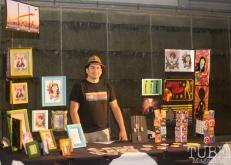 Angelo Esquivel, Art Mix Crocker-Con, Crocker Art Museum, Sacramento, CA, September 14, 2017, Photo by Dan Tyree