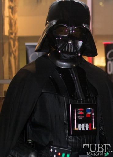 Darth Vader, Art Mix Crocker-Con, Crocker Art Museum, Sacramento, CA, September 14, 2017, Photo by Dan Tyree