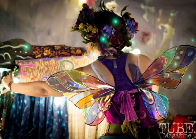 Butterfly Wings, City of Trees, Sacramento, CA, September 24, 2017 Photo by Dan Tyree