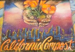 California Compost, Chalk It Up, Fremont Park, Sacramento, CA, September 4, 2017 Photo Dan Tyree