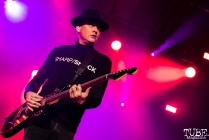 Vocalist and Guitarist Matt Skiba of Blink-182, City of Trees, Papa Murphy's Park, Sacramento, CA. September 24th, 2017. Photo Mickey Morrow