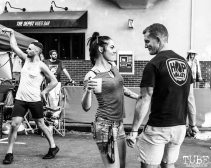 Attendees dancing, THIS is Midtown, 20th street, Sacramento, CA. September 9, 2017. Photo Mickey Morrow