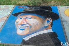 Chalk It Up, Fremont Park, Sacramento, CA, September 3, 2017 Photo Mickey Morrow
