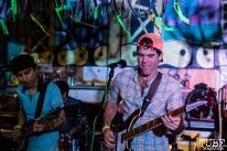 Vocalist/bassist Josh Bevelacqua, of The Aerosols, THIS is Midtown, 20th street, Sacramento, CA. September 9, 2017. Photo Mickey Morrow