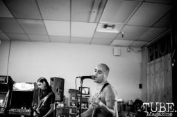 Home Blitz performing at Phono Select Records, in Sacramento CA. September 2017. Photo Heather Uroff.