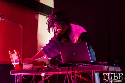 EUROSTACHE performing at Norcal Noisefest XXI at Cafe Colonial in Sacramento, CA (10/8/2017). Photo Cam Evans.