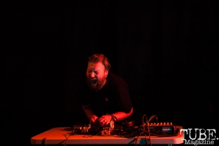 VANDERMUELEN performing at Norcal Noisefest XXI at Cafe Colonial in Sacramento, CA (10/8/2017). Photo Cam Evans.