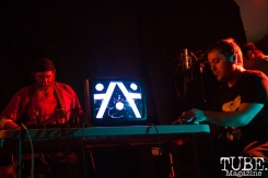 INSTAGON performing at Norcal Noisefest XXI at Cafe Colonial in Sacramento, CA (10/8/2017). Photo Cam Evans.