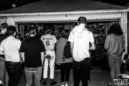 Audience at Someone's House, Sacramento, CA. October 10, 2017. Photo Mickey Morrow