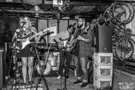 Sundae Crush Performing at Someone's House, Sacramento, CA. October 10, 2017. Photo Mickey Morrow