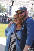 Melody White and Mike Smith, Punk in Drublic Craft Beer and Music Festival at Papa Muphy's Park, Sacramento CA, October 15th 2017. Photo Joey Miller
