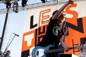 Less Than Jake at Punk in Drublic Craft Beer and Music Festival at Papa Muphy's Park, Sacramento CA, October 15th 2017. Photo Joey Miller