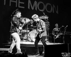 Walk The Moon, Electric Christmas, Golden 1 Center, Sacramento, CA December 7, 2017 Photo by Mickey Morrow
