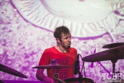 Jon Bafus of Gentleman Surfer performing at The Red Museum in Sacramento, CA (1/27/2018). Photo Cam Evans