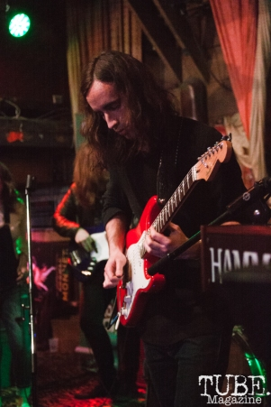 Patrick Hennion of Our People performing at Powerhouse Pub in Folsom, CA (1/17/2018). Photo Cam Evans