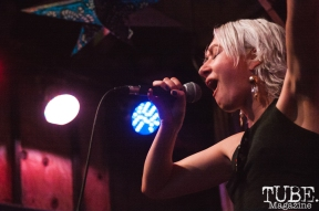Autumn Sky Hall of Write Or Die performing at Powerhouse Pub in Folsom, CA (1/17/2018). Photo Cam Evans