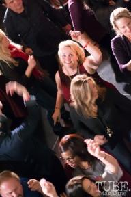 Dancing to Joy & Madness, Audio Muse, Crocker Art Gallery, Sacramento, CA, December 21, 2017, Photo by Daniel Tyree