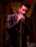 Vincent Adorno of Our People, Power House Pub, Folsom, CA January 17, 2018, Photo by Dan Tyree
