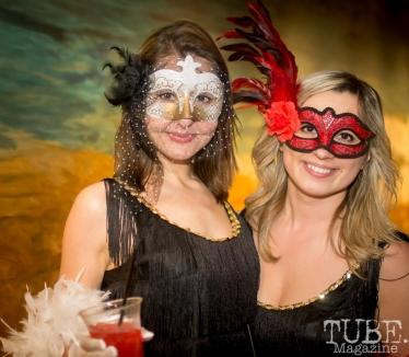 Evy & Rye, Art Mix Masquerade, Crocker Art Gallery, Sacramento, CA January 11, 2018, Photo by Daniel Tyree