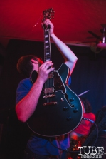 Keith of What Rough Beast performing at Cafe Colonial in Sacramento for Instagon's 25th anniversary show (2/2/2018). Photo Cam Evans