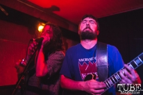 Keith and David of What Rough Beast performing at Cafe Colonial in Sacramento for Instagon's 25th anniversary show (2/2/2018). Photo Cam Evans