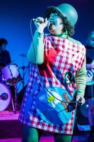 X Ray Spex Halloween Show. Verge Center for the Arts. Sacramento CA. March 27, 2017. Photo Mickey Morrow
