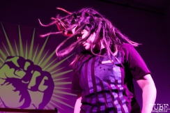 Rage Against The Machine cover band at Verge Center for the Arts Halloween Show in Sacramento CA (March 24, 2018). Photo Cam Evans