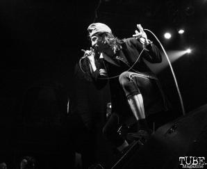 Vocalist Eugene Hütz of Gogol Bordello, The Fillmore, San Francisco, CA. February 27th, 2018. Photo Anouk Nexus