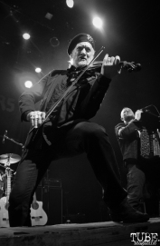 Violinist Sergey Ryabtsev of Gogol Bordello, The Fillmore, San Francisco, CA. February 27th, 2018. Photo Anouk Nexus