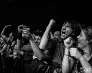 Audience for Gogol Bordello, The Fillmore, San Francisco, CA. February 27th, 2018. Photo Anouk Nexus