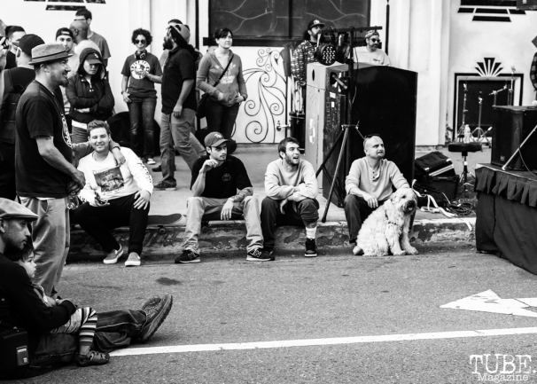 Attendees of The 24k Block Party, May 19, 2018, Sacramento, CA, Photo by Mickey Morrow