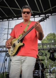 Brian Wood guitarist of PointDexter, First Festival, Tanzanite Park, Sacramento, CA, May 5th, 2018, Photo by Anouk Nexus