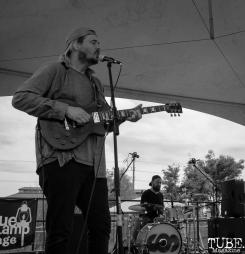 Geoffrey CK vocalist/guitarist and of Sunmonks , First Festival, Tanzanite Park, Sacramento, CA, May 6th, 2018, Photo by Anouk Nexus