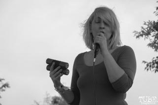 Alexandra Steele vocalist of Sunmonks, First Festival, Tanzanite Park, Sacramento, CA, May 6th, 2018, Photo by Anouk Nexus