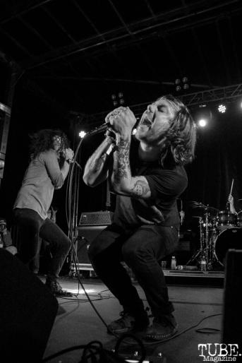 Kurt Travis performing with A Lot Like Birds, First Festival, Tanzanite Park, Sacramento, CA, May 6th, 2018, Photo by Anouk Nexus