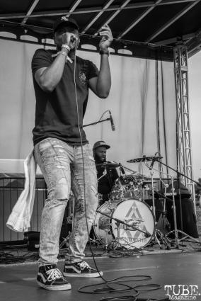 Elijah Jaron, First Festival, Tanzanite Park, Sacramento, CA, May 5th, 2018, Photo by Anouk Nexus