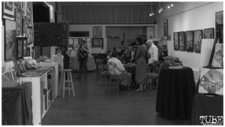 """Patris Studio and Gallery reception for """"The Broadway Rain Series"""" in Sacramento CA. May 4th, 2018. Photo Benz Doctolero"""