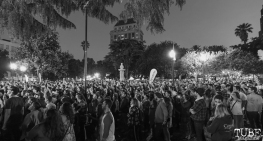 Crowd for Concerts in the Park, Sacramento, CA, May 18, 2018, Photo by Daniel Tyree