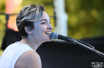Kelly Rosenthal of I Am Strikes, Concerts in the Park, Sacramento, CA, May 18, 2018, Photo by Daniel Tyree