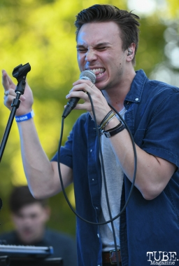 Caleb Hulin of Wylma, Concerts in the Park, May 4th, 2018, Sacramento, CA, Photo by Daniel Tyree