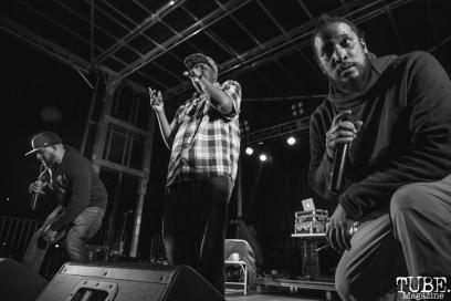 Blackalicious performing at First Festival in Sacramento, CA (5/5/2018). Photo Cam Evans.