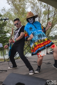 The Moans performing at First Festival in Sacramento, CA (5/5/2018). Photo Cam Evans
