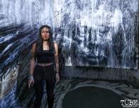 Artist Lin Fei Fei, Light.Wav Sacramento Tech-Art Showcase, Sacramento, CA, June 16, 2018, Photo by Daniel Tyree