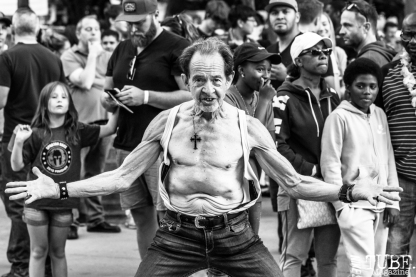 Kenny the Dancing Man, Concerts in the Park, Cesar Chavez Park, Sacramento, CA. June 15th, 2018. Photo Mickey Morrow