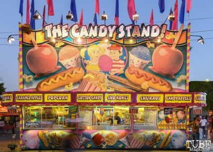 The Candy Stand, California State Fair, Cal Expo, Sacramento, CA, July 13, 2018 Photo by Daniel Tyree