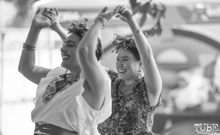 Dancing Fridas at Festival de Frida, Sacramento, CA, July 8, 2018, Photo by Daniel Tyree