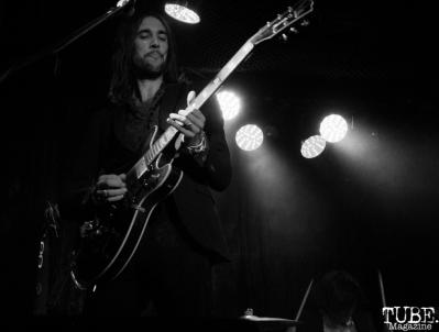 Guitarist and Keyboardist Aaron Eisenberg of The Soft White Sixties, Harlow's Restaurant and Nightclub, Sacramento, CA. September 18th, 2018. Photo Anouk Nexus