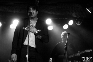 Lead Vocalist Octavio Genera and Bassist Ryan Noble of The Soft White Sixties, Harlow's Restaurant and Nightclub, Sacramento, CA. September 18th, 2018. Photo Anouk Nexus
