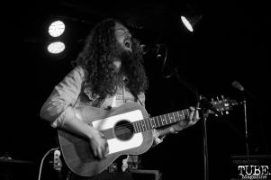 Jeremy Lyon of King Dream playing a solo set, Harlow's Restaurant and Nightclub, Sacramento, CA. September 18th, 2018. Photo Anouk Nexus