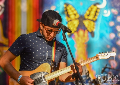 Jesse Morales of La Noche Oscura, Festival en la Calle, Southside Park, Sacramento, CA September 16, 2018, Photo by Daniel Tyree